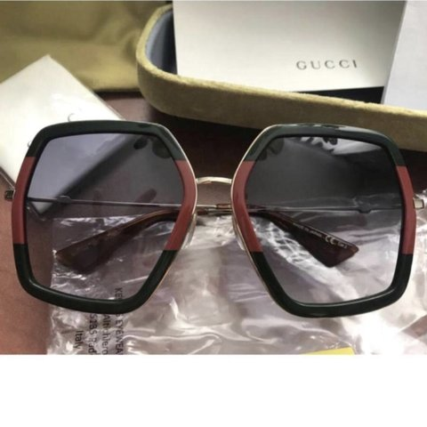 499e913d39b Brand New Gucci GG0106s Sunglasses Polished frames in a the - Depop