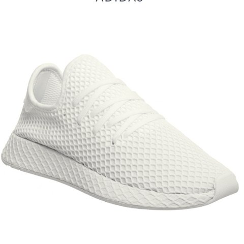 172ff7aa0 Mens Adidas Deerupt Triple White👟 Available Sizes! RRP- for - Depop