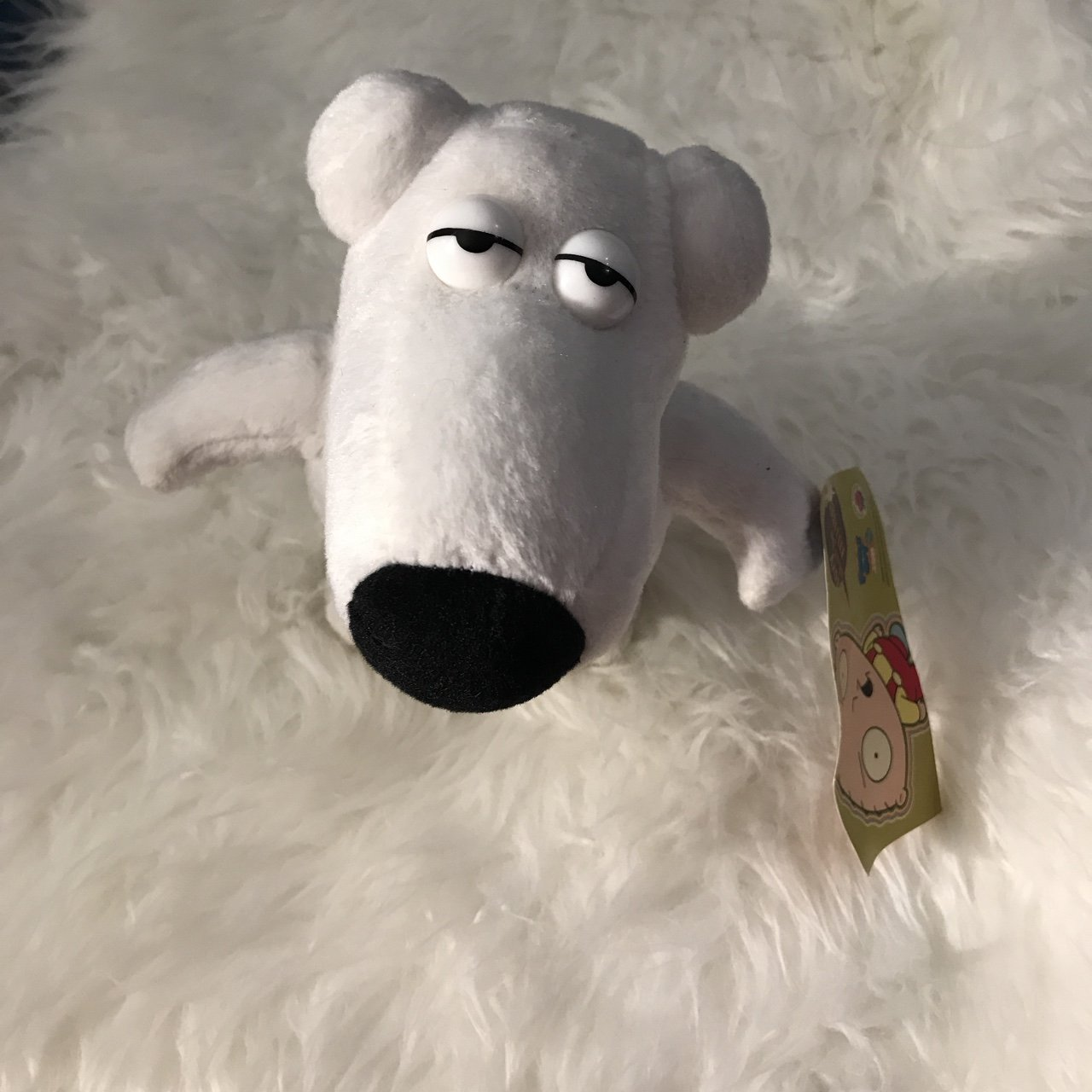 a16d0dd105 Brian from Family guy plush
