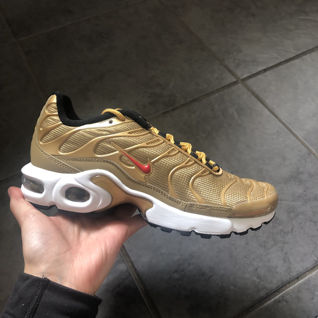 Air Max Plus TN SE BG Nike ar0259 700 metallic gold