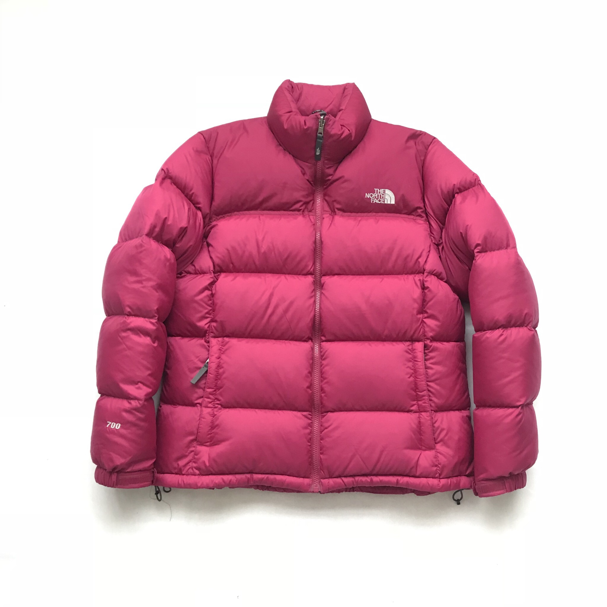 b43114859 The North Face Puffer Jacket Pink / Purple 700... - Depop
