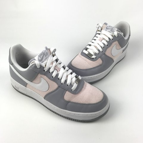 2319f0e5910 Nike Air Force 1 s   Ones - Pink   Grey Men s Size UK7 Any - Depop