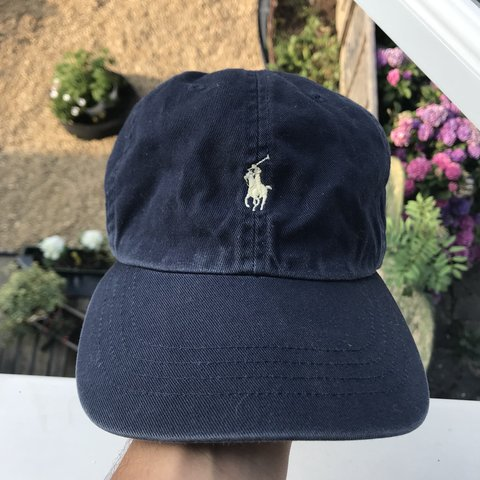 38cedae98 Polo Ralph Lauren Cap In Navy   Yellow One Size Fits All