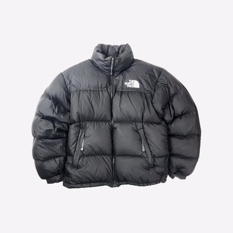 a72af2a3f4 Vintage The North Face Nuptse Puffer Jacket In Back   W  - Depop