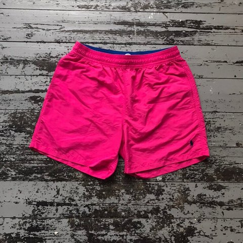 0195cabe3bc4a @benrichcha. 9 days ago. London, United Kingdom. Polo Ralph Lauren Swimming  Trunks / Water Shorts In Pink ...