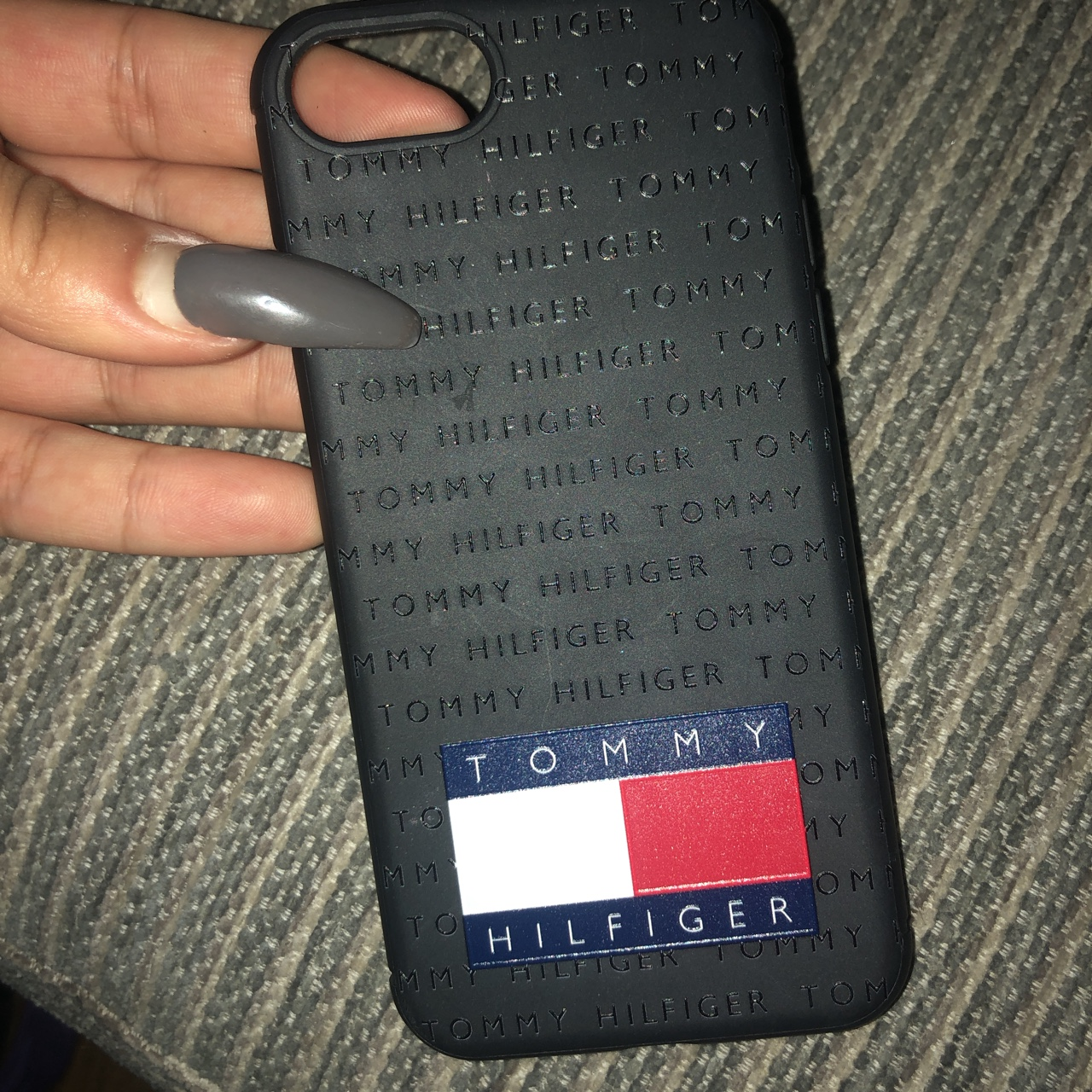 brand new 17700 a7aa2 Genuine Tommy Hilfiger iPhone 8 case - Depop