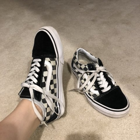 c76a441613 Checked Vans🦅 Women s size 5.5