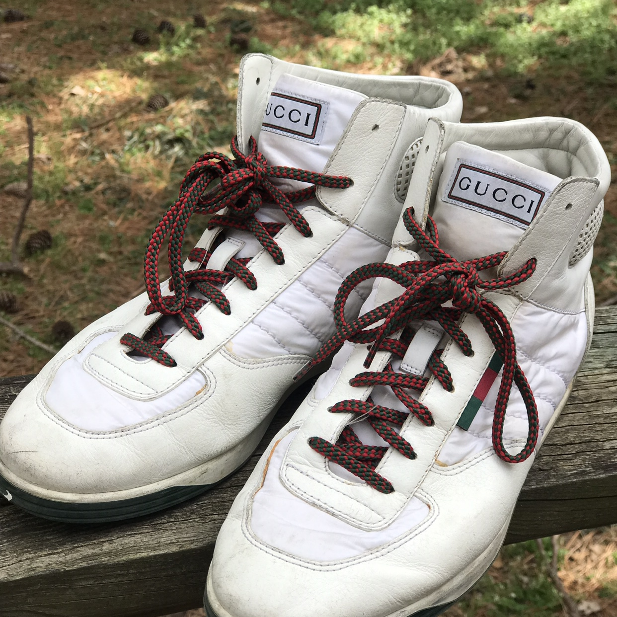 Vintage Gucci Sneakers. SZ. 9. Wore on