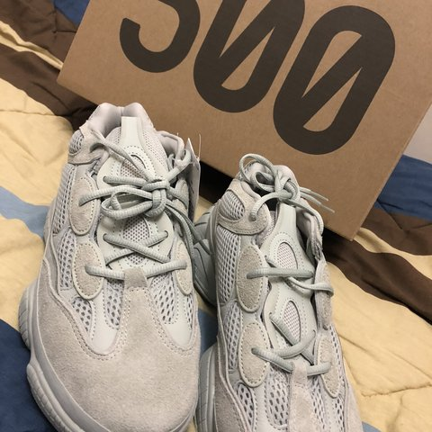 da2421730a3b6 New Yeezy 500  Salt  Size UK9.5 US10 Order ready to - Depop