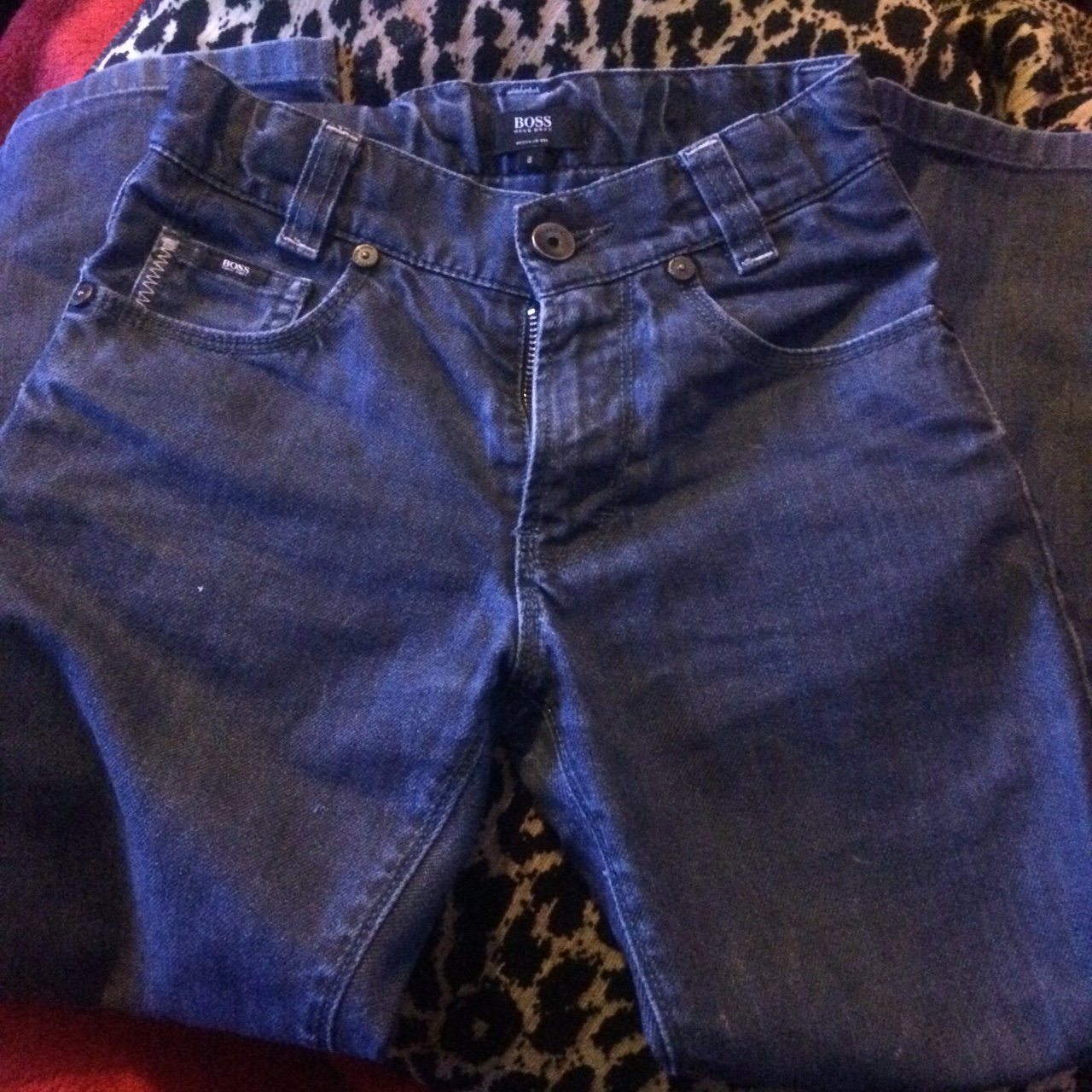 Boys HUGO BOSS jeans Age 8 years Now£12 (small fitting) blue - Depop 8ac57ac390f1
