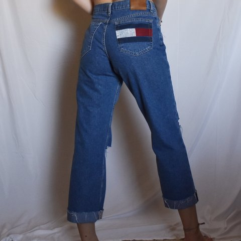 546378f4 @presleyredd. 3 months ago. Trophy Club, United States. PRICE DROP lovely  vintage mid rise Y2K/early 90s Tommy Hilfiger Jeans. These jeans are so ...