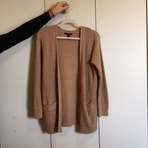 a863f41b047258 @mirastraathof. 8 months ago. Bethlehem, United States. A perfect cozy  camel colored cardigan for the autumn 🍂