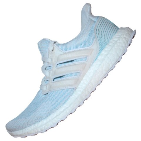 """9630961592c68 Adidas Ultra Boost 3.0 """"Parley Coral Bleaching"""" Great light - Depop"""