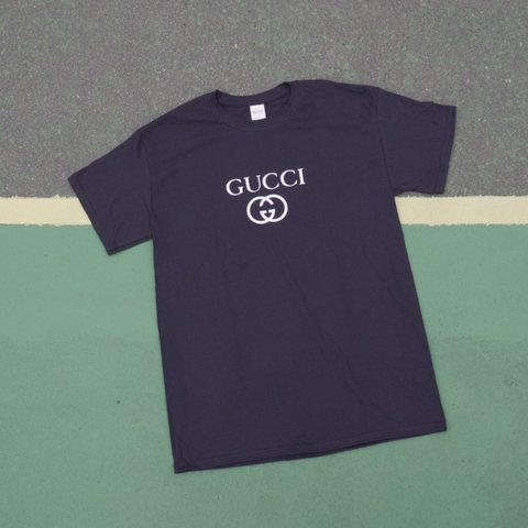639b45386f81 @masscollective. 7 months ago. Lakeville, United States. Brand New Gucci  Logo Bootleg T-shirt - Men's Size Large