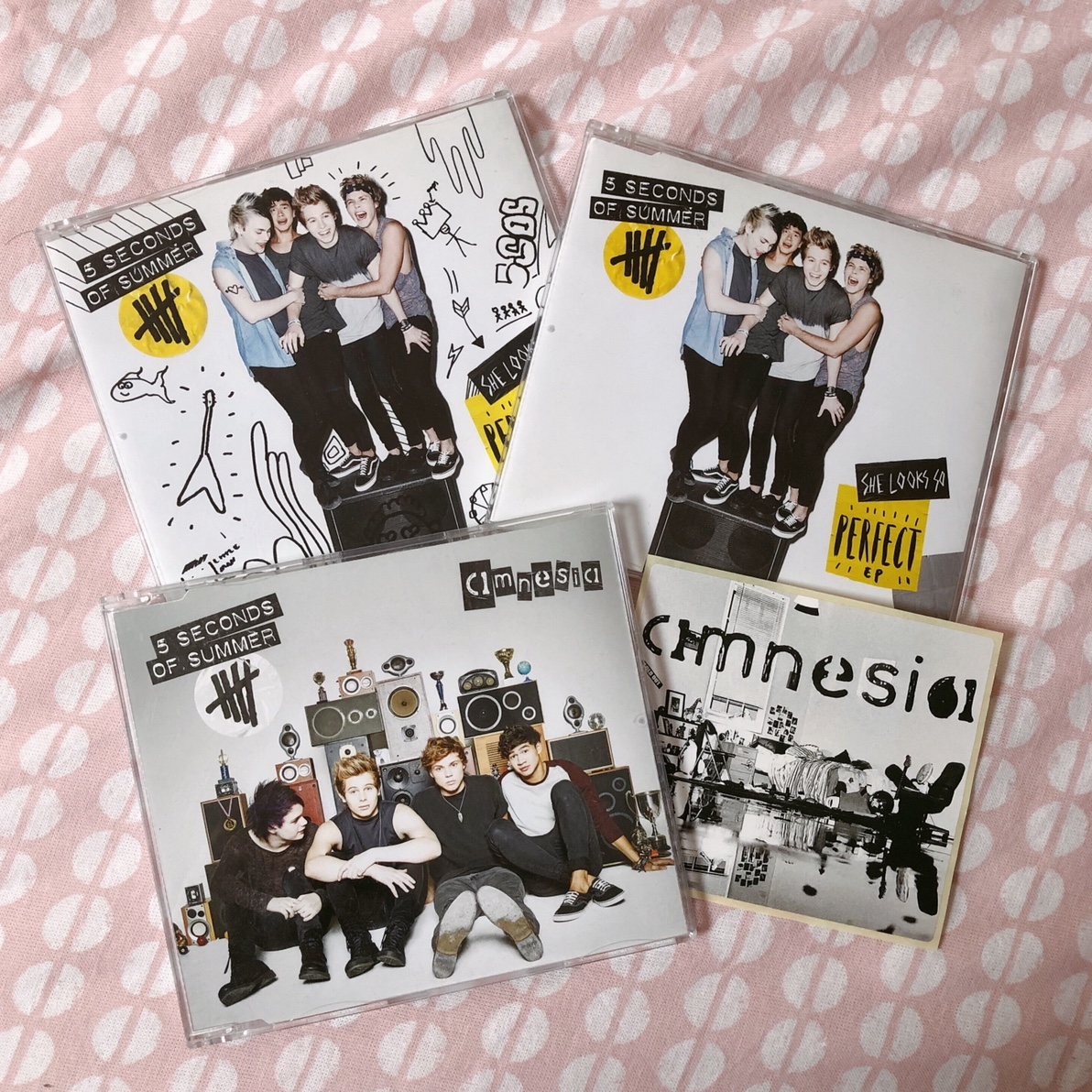 5sos She Looks So Perfect Ep Two Versions And Depop