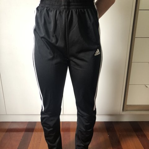 59bf0144 Adidas Black Tracksuit Jacket almost brand new! tag cut out - Depop