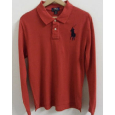 f309cd74 @appletreevintageclothing. in 13 hours. Halifax, United Kingdom. Ralph  Lauren Custom Fit Mens Long Sleeve Polo Shirt ...