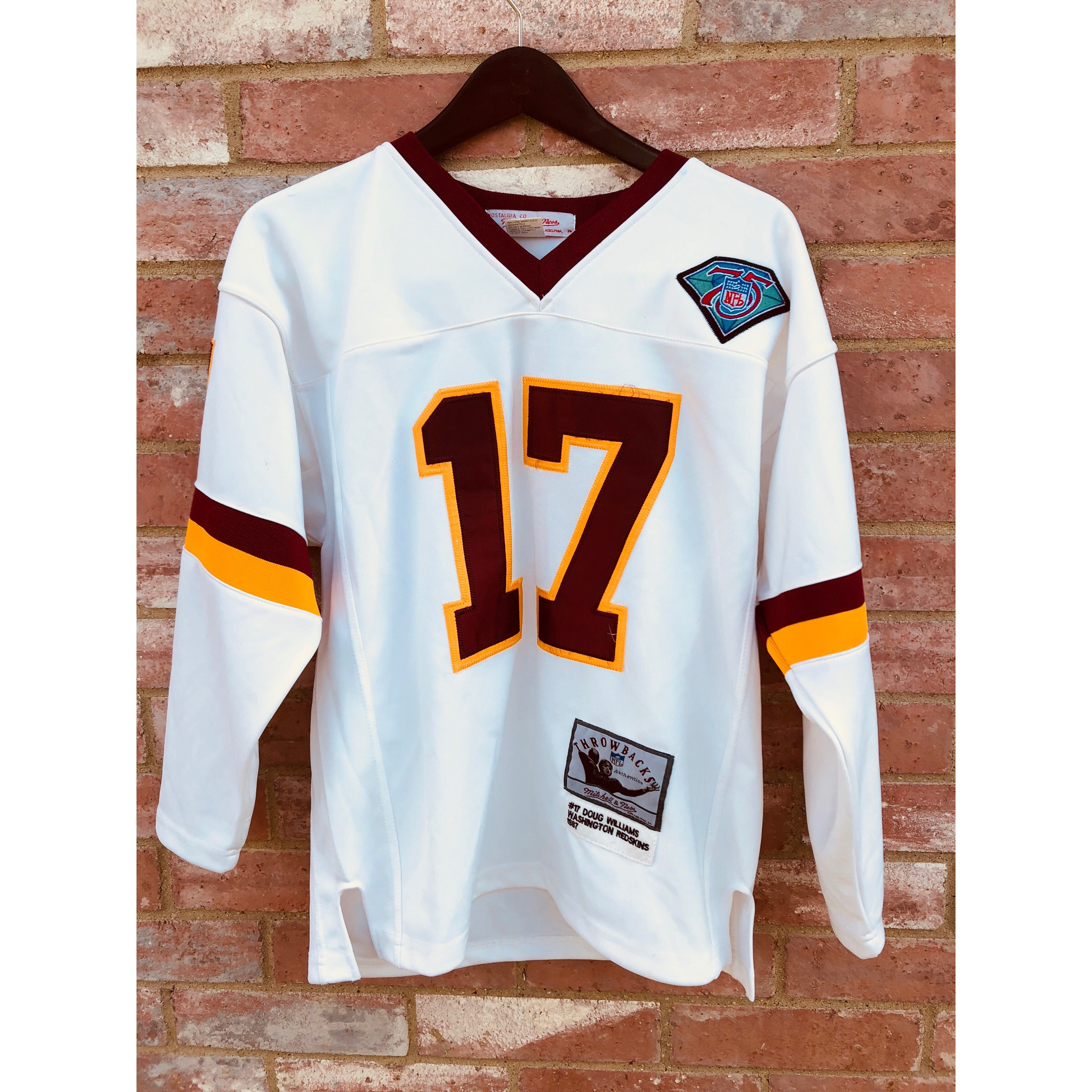 huge discount 0cc43 58b85 Mitchell and Ness Doug Williams Throwback... - Depop