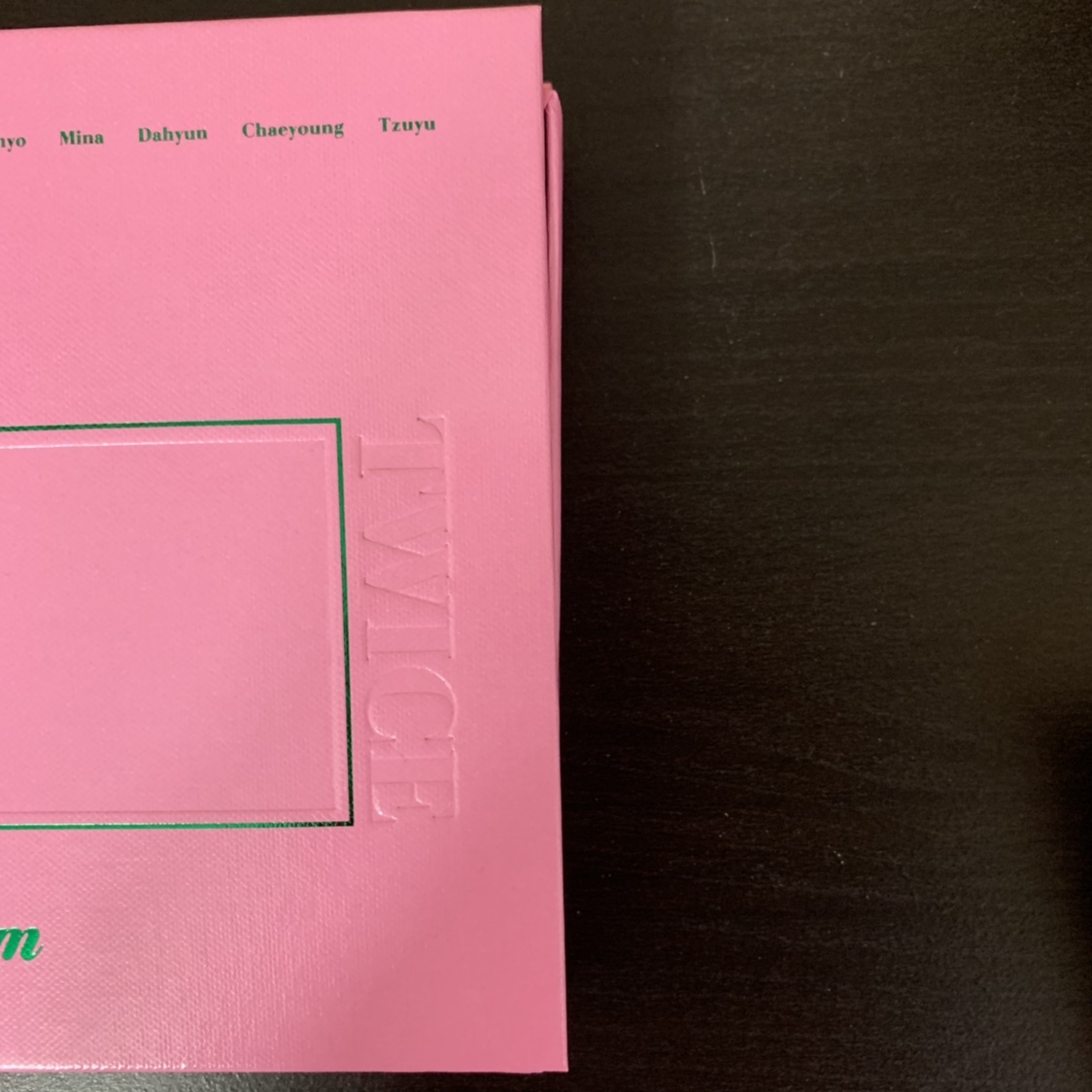 twice twicetagram album: pink ver - includes    - Depop