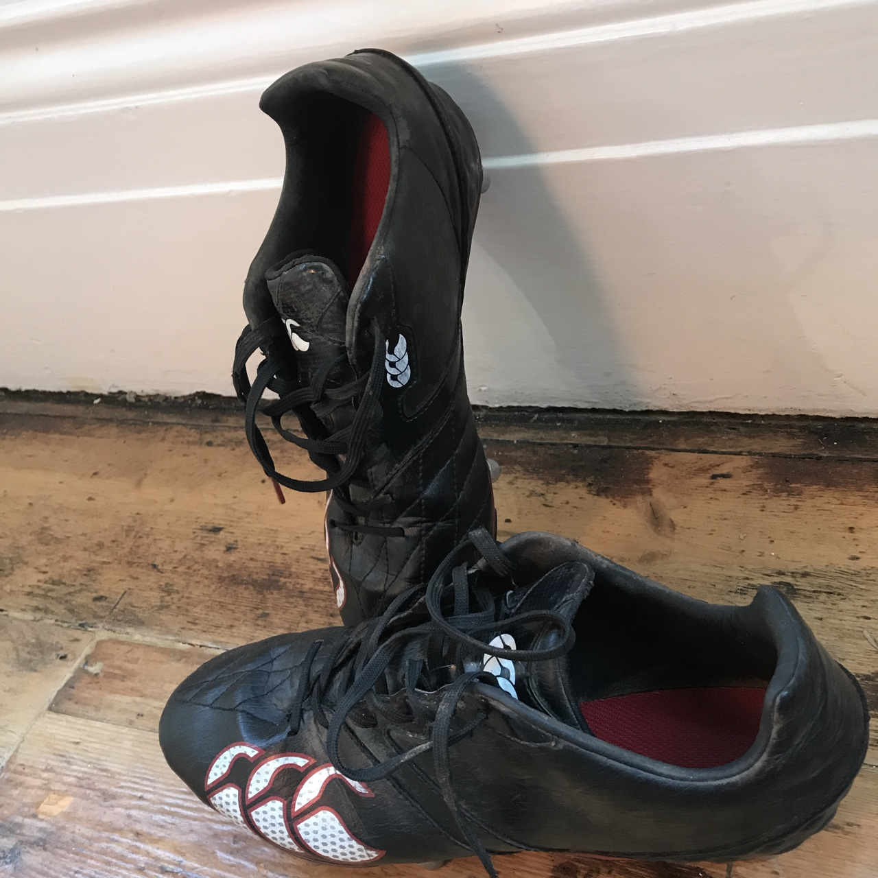 Rugby Boots Canterbury Metal Studs Good Depop