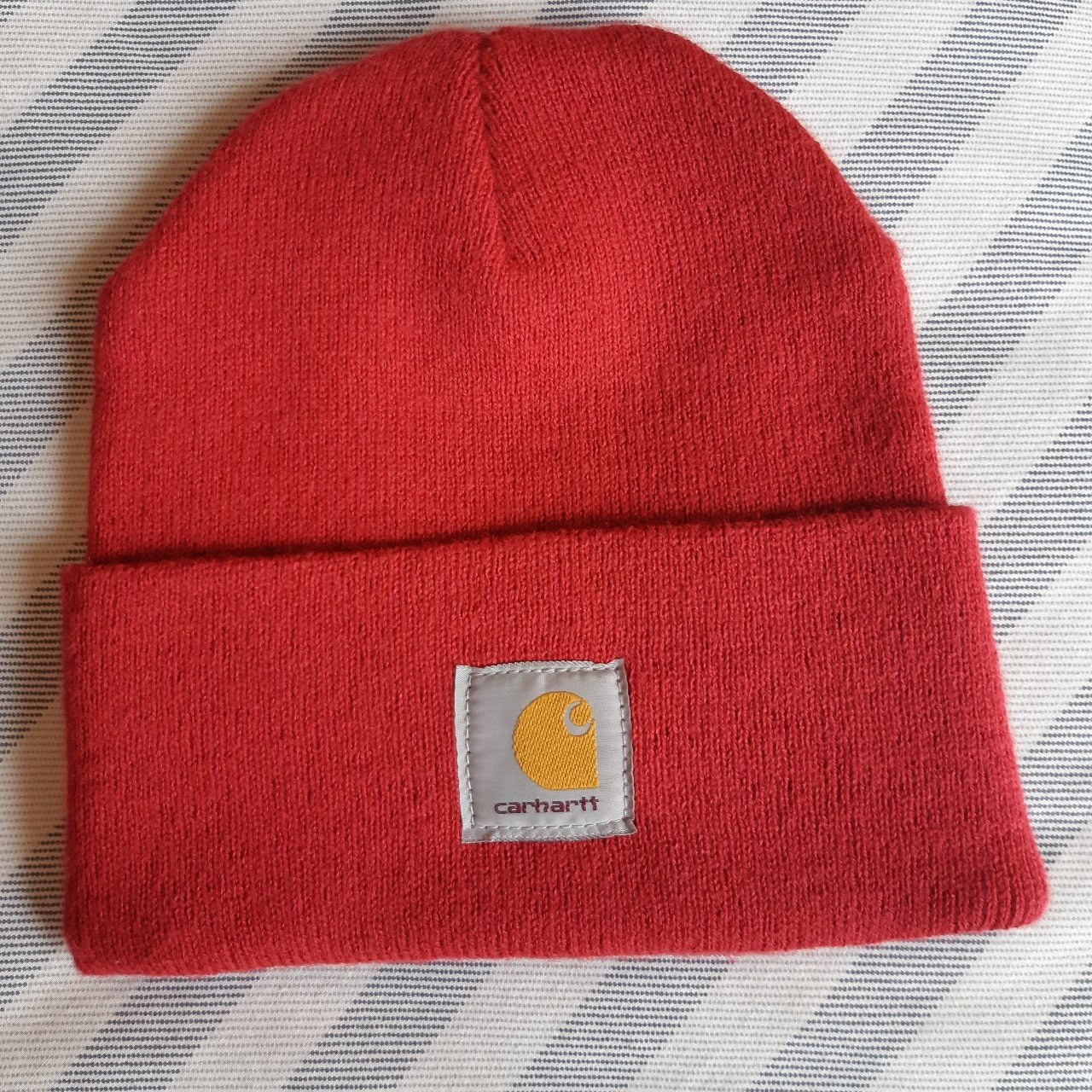 Red  Carhartt  Beanie new without tags.  FreeUKPostage  UK - Depop fd3b6f3ad08