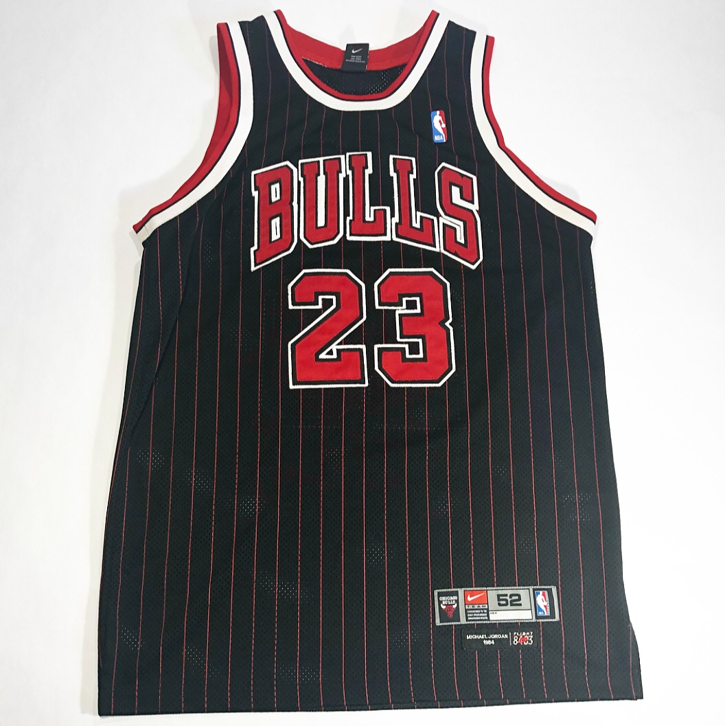 reputable site d2341 99b79 Rare Michael Jordan Nike Flight 8403 Pinstripe... - Depop