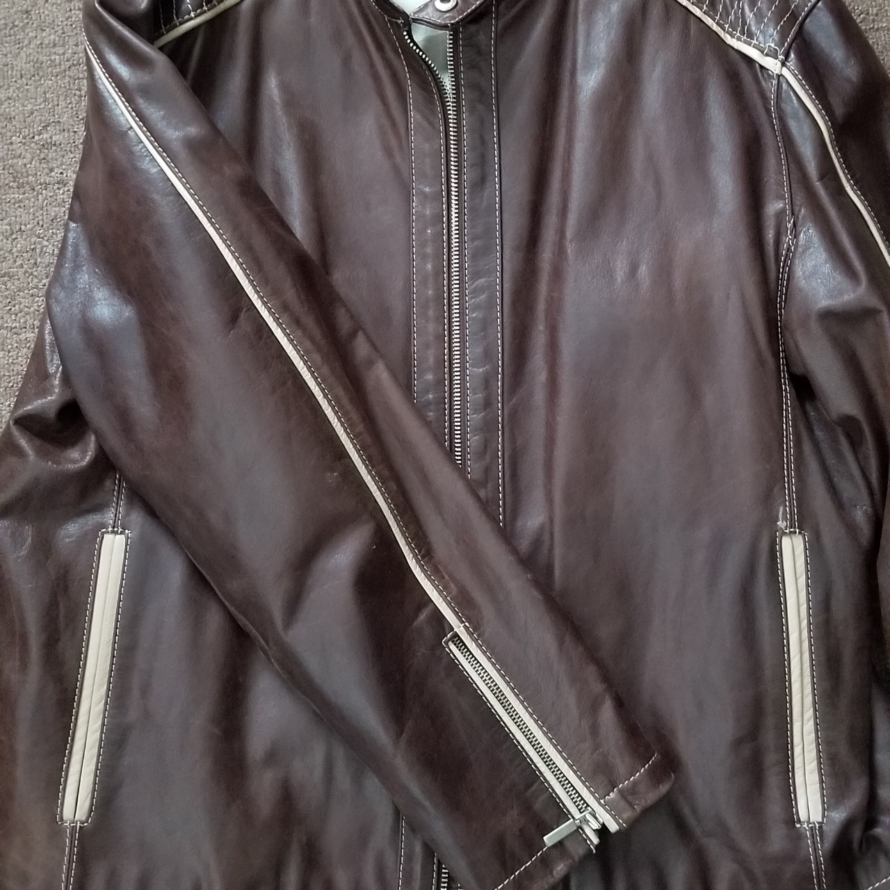 Baarly Men Motorcycle Leather Jackets