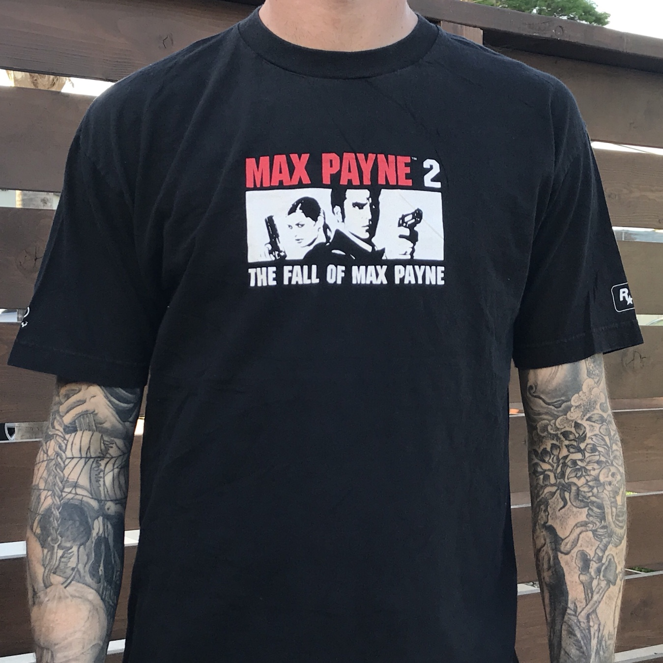 Max Payne 2 Fall Of Max Payne Video Game Promo Black Depop