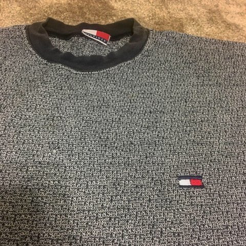 1dc11eb4520 90 s Tommy Hilfiger Knit Tee Used but in good condition. or - Depop