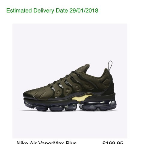 1ccb838859 @nomyj. last year. Leeds, UK. NIKE AIR VAPORMAX PLUS