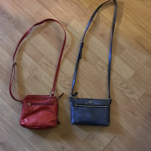 9c66961a6e Bundle of two mini crossbody purses. One is Cole Haan and is - Depop