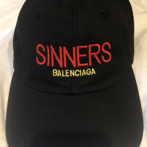 c4d451a3c53 Authentic Balenciaga hat that retails for  390!! Lightly of - Depop
