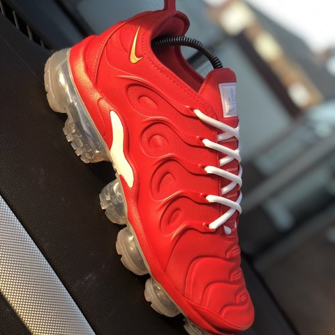 ca0837d0684 Kylie Boon x Nike Vapormax Plus customs inspired by Chinese - Depop