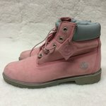 5ae286df6235 TIMBERLAND!!! Classic Pink Lace Up