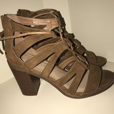 bfba56ad89d New Look Cut Out Block Heel Sandals. •Tags still on