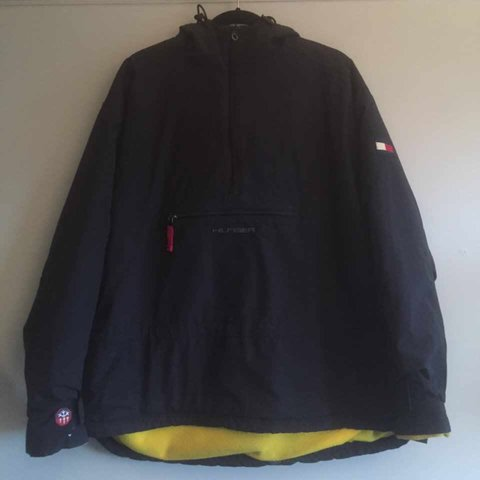Why Its Good To Pull Over To Side Of >> Tommy Hilfiger 3m Pull Over 1 4 Jacket Anorak 8 10 Wear Good Depop