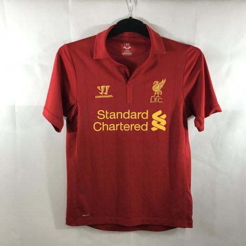 45f7218a8f3 Liverpool Home Football Shirt 2012 13 Adults Small Home – as - Depop
