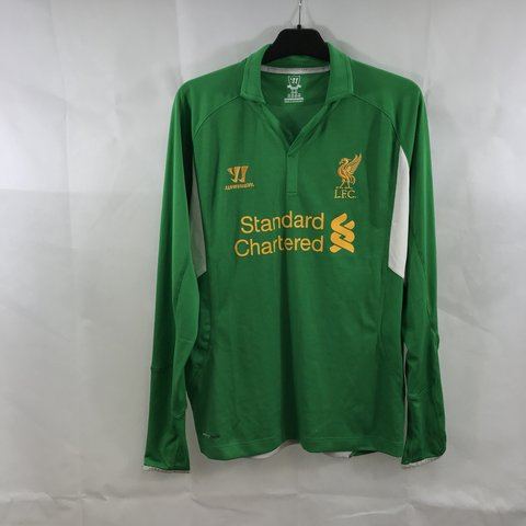b631c135eaa Liverpool GK Football Shirt 2012 13 Adults Small Warrior GK - Depop