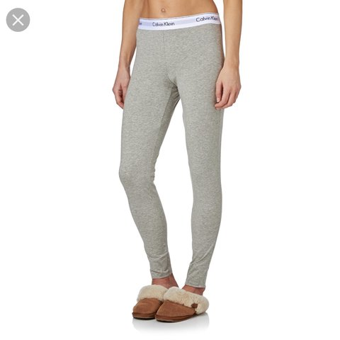 2c35233ae18e8 @abbiegoodacre133. 2 months ago. Nottingham, United Kingdom. Calvin Klein  grey lounge wear leggings ...