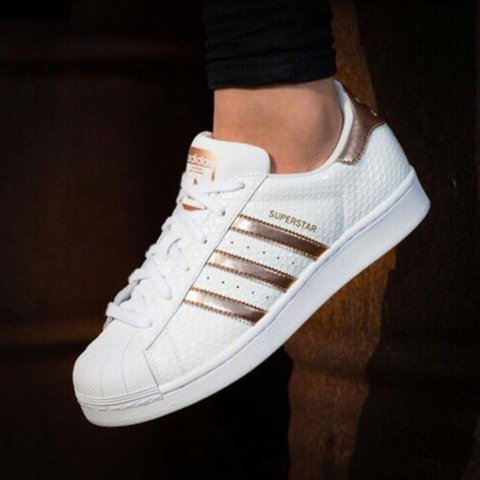 adidas superstar dames goud