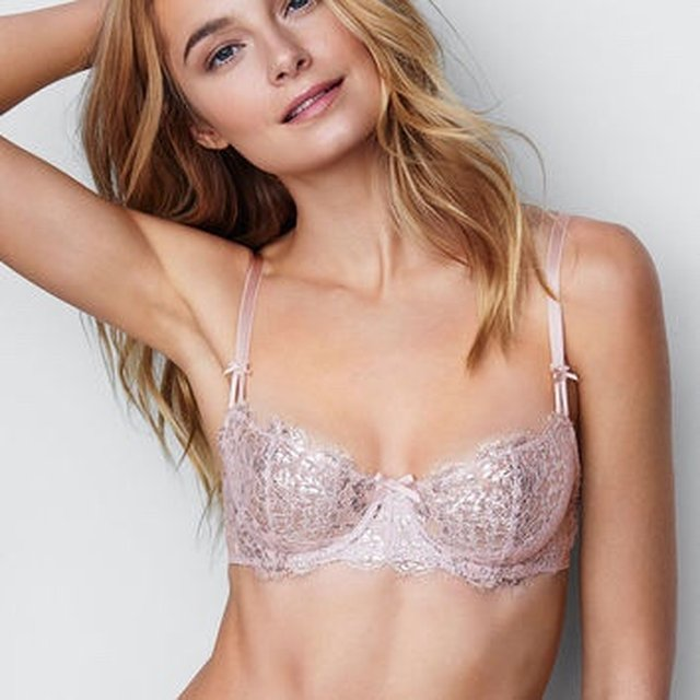 Details about  /Victoria/'s Secret Dream Angels Push Up w//o padding Wicked Unlined Bra Size 34C