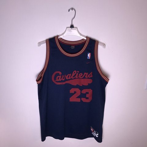 941ee25ae LeBron James Cleveland Cavaliers Throwback Jersey Size XL No - Depop