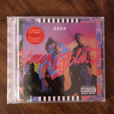 brand new 5 seconds of summer youngblood album  (    - Depop
