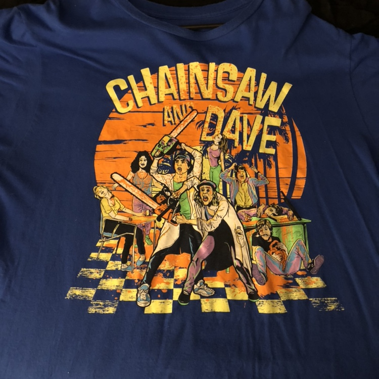 Fright Rags - Chainsaw and Dave shirt  Have you seen