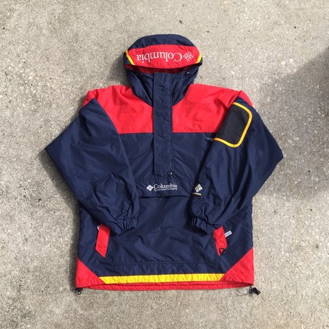 ccd6f610eaeee Vintage Columbia insulated pullover jacket Columbia Such a - Depop