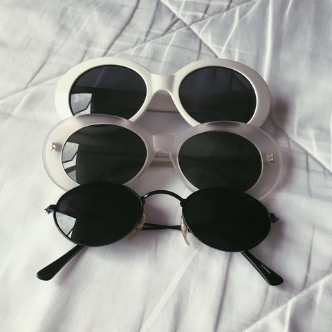 dbf8ecd5061 🔒Clout Goggle Variety Pack🔒 OG White Clout Goggles Clear - Depop