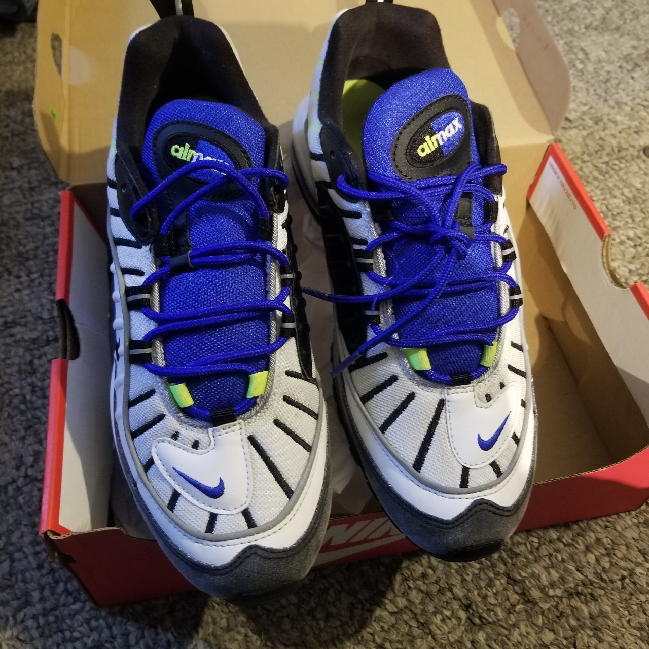 Nike Air Max 98 plus 9/10 Comes with