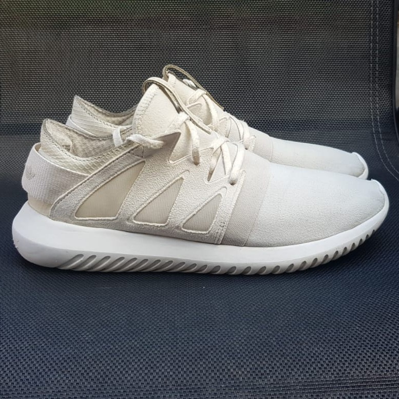 100% authentic 9f5a6 82485 Adidas Tubular Viral W White S75579 Trainers Shoes... - Depop