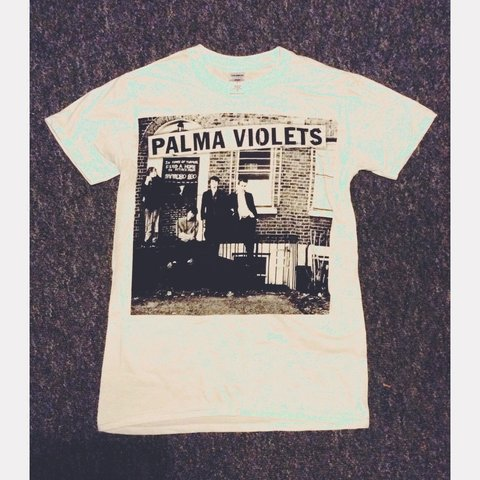 1334a691663 Palma Violets OFFICIAL Merchandise White