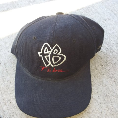 FUBU snapback bootleg hat Used As Is....in good condition. - Depop f0a8645b62e